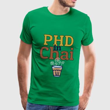 PHD IN CHAI - Herre premium T-shirt