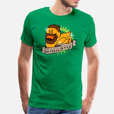 Coincoin Bearded Duck - T-shirt Premium Homme