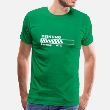 Progress Bar Opinion loading - progress bar! - Men's Premium T-Shirt