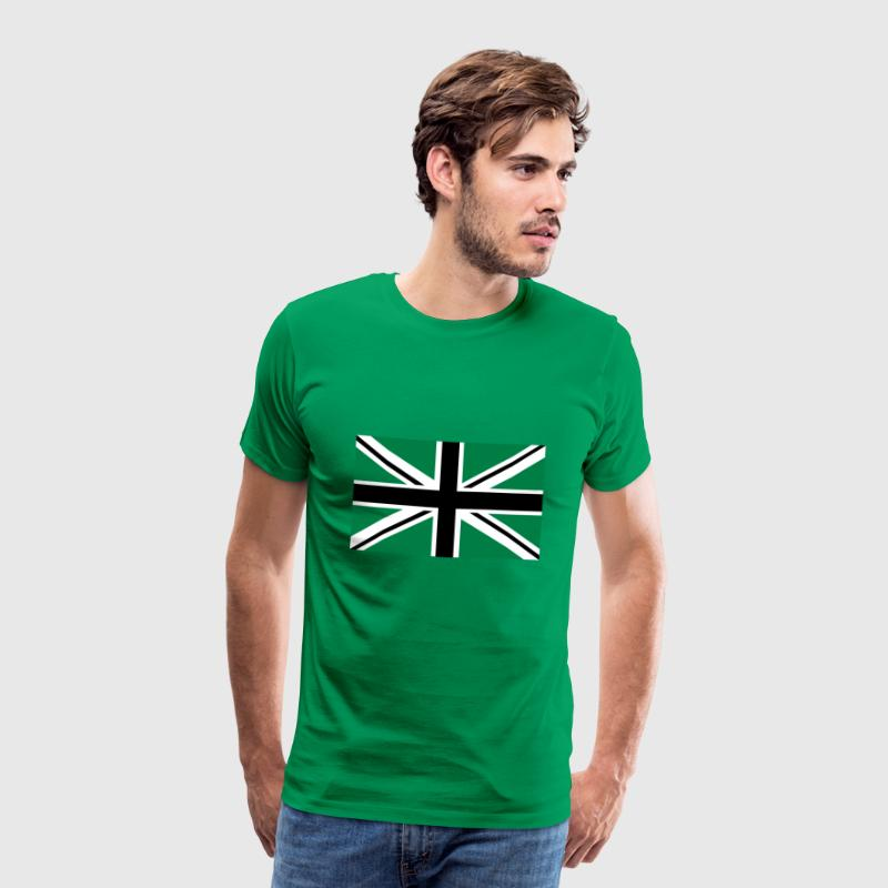 Union Jack | black-white-green | Flag flag - Men's Premium T-Shirt