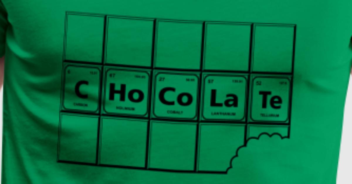 Chocolate periodic table element genius by fancyteedesigns spreadshirt urtaz Gallery