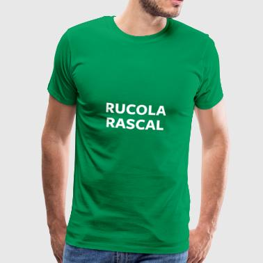 Rucola Rascal Night Mode - Herre premium T-shirt