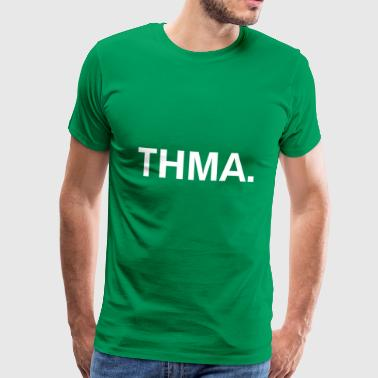 Thma Spreadshirt - Premium T-skjorte for menn