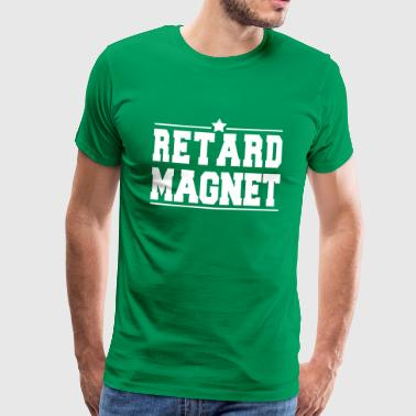Star Retard Magnet - Men's Premium T-Shirt