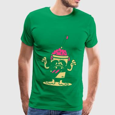 Eat Brain - Men's Premium T-Shirt