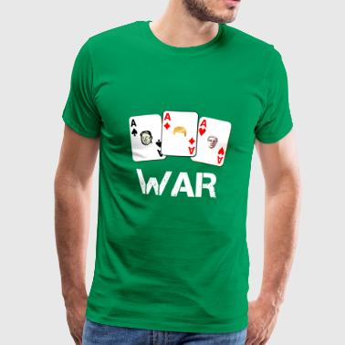 WAR / War - Men's Premium T-Shirt