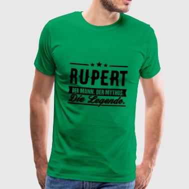 Man Myth Legend Rupert - Men's Premium T-Shirt