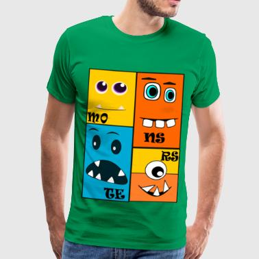 monsters - Mannen Premium T-shirt
