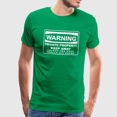 Filthy Wear Small boobs? Get lost. - Men's Premium T-Shirt