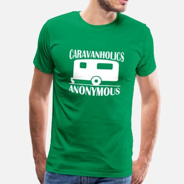 Caravan Caravanholics Anonymous - Men's Premium T-Shirt