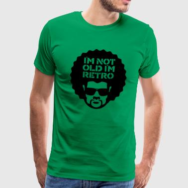 im not old im retro - Men's Premium T-Shirt