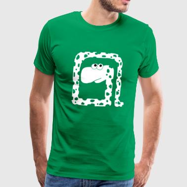 Snake with Holes - Mannen Premium T-shirt