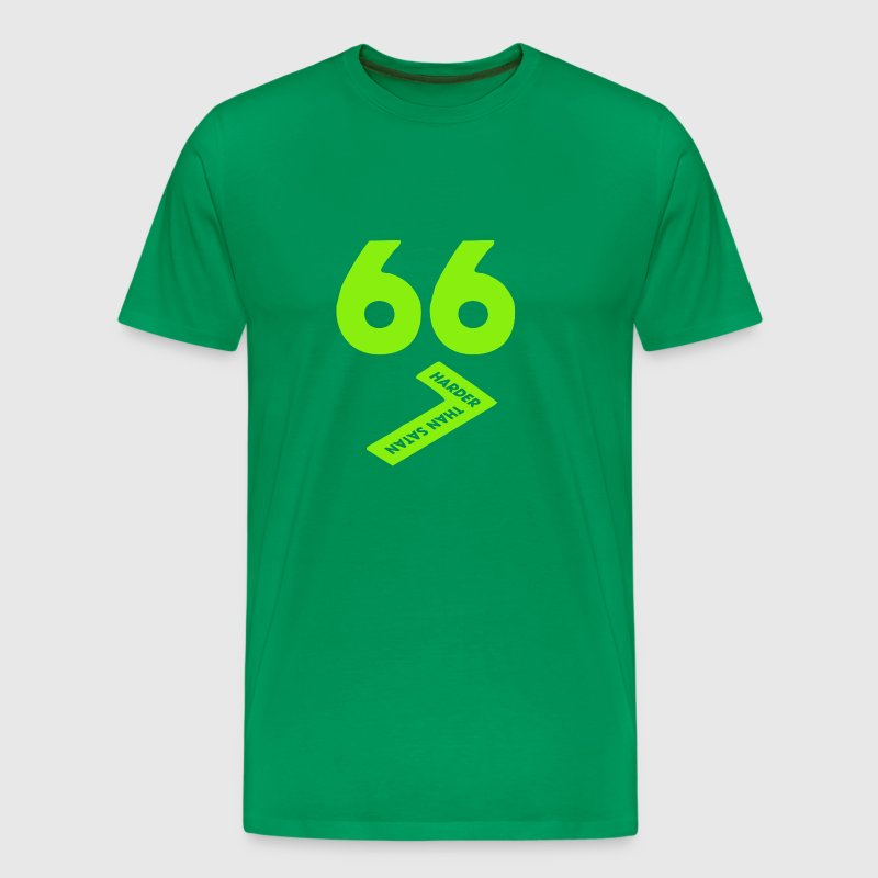 667 Harder Than Satan - Men's Premium T-Shirt