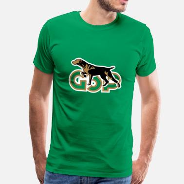 Kurzhaar gsp_german_shorhaired_pointer - Men's Premium T-Shirt