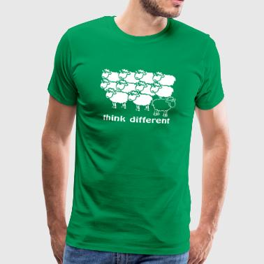 Mouton Think different - T-shirt Premium Homme