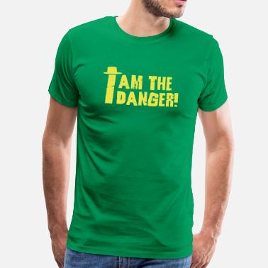 I Am The One Who Knocks I am the danger with hat - Men's Premium T-Shirt