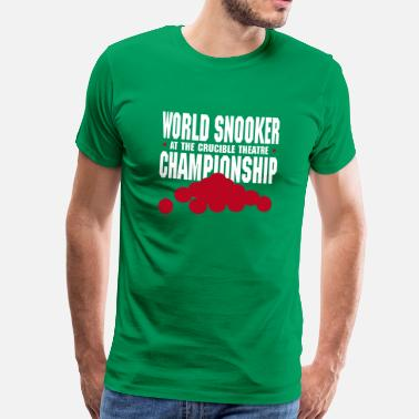 Snooker World Snooker Championship - Snookershirt - Herre premium T-shirt