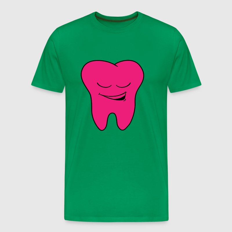 Dental office logo tooth - Men's Premium T-Shirt