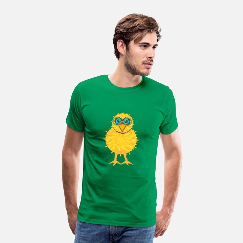 Grappige T-Shirts - Chick - Mannen premium T-shirt kelly groen