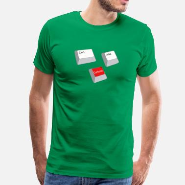 Windows Control Alt Delete - Mannen Premium T-shirt