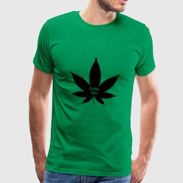 Cannabis. Ganja. Leaf. marijuana - Men's Premium T-Shirt