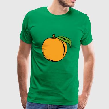 apricots apricot veggie vegetables fruits6 - Men's Premium T-Shirt