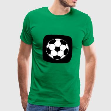 Icon Football Ball Sport Ball Sports - Men's Premium T-Shirt