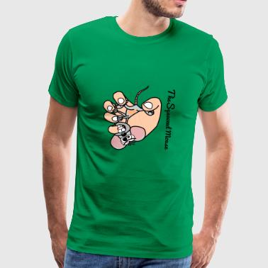 The Squeezed Mouse - Men's Premium T-Shirt