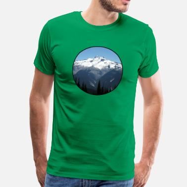 Nature - Mountains - Forest - Photography - Cool T - Mannen Premium T-shirt