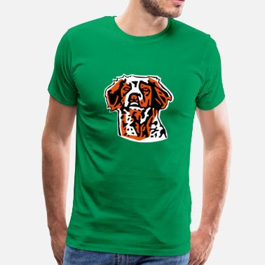 Epagneuls épagneul breton - T-shirt Premium Homme