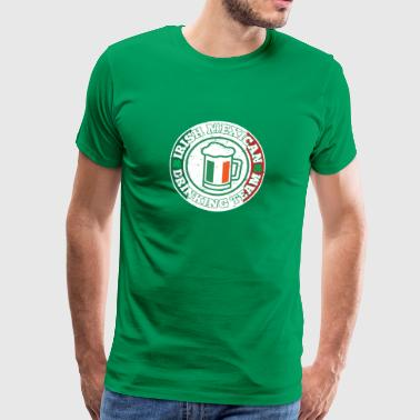 Mexico Irsk Mexicansk Drikkehold Mexico Flag - Herre premium T-shirt
