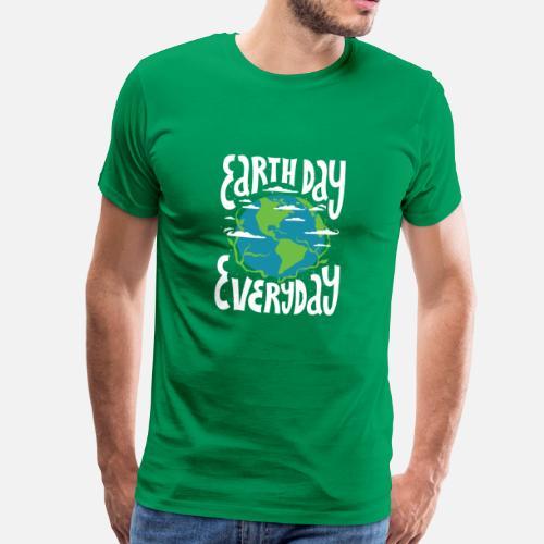48177a0fc1277 CHEMISE DU JOUR DE LA TERRE T-shirt du changement climatique T-shirt  premium Homme   Spreadshirt