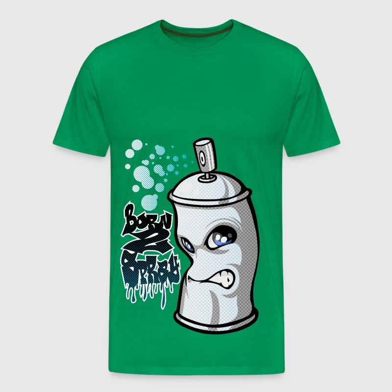 Spray en graffiti - Mannen Premium T-shirt