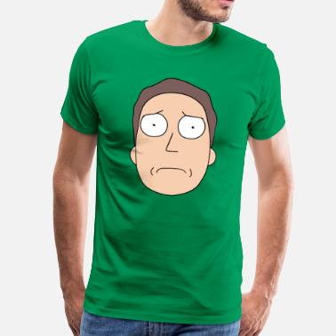 Rick and Morty Jerry Smith - Premium-T-shirt herr