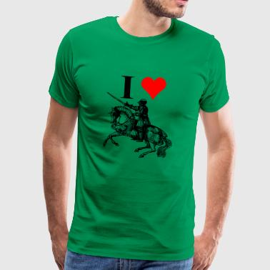 Medieval fan - Men's Premium T-Shirt