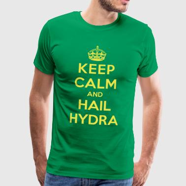 Keep calm and hail Hydra - Men's Premium T-Shirt