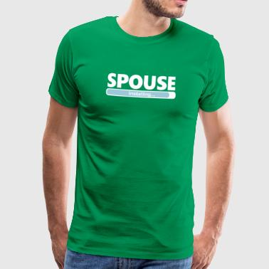 Installing Spouse (1063V) - Men's Premium T-Shirt