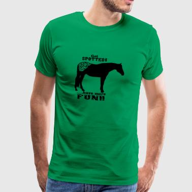 cheval appaloosa - T-shirt Premium Homme
