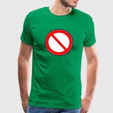 Interdiction Interdiction des signes - T-shirt Premium Homme