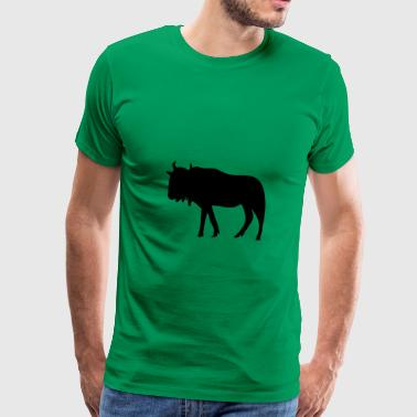 Gnu, Bison, Buffalo - Men's Premium T-Shirt