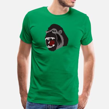 Gorilla Face Gorilla Face - Men's Premium T-Shirt