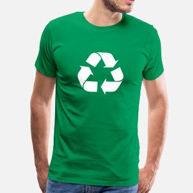 Recycle Recycling recyceln symbole - Männer Premium T-Shirt