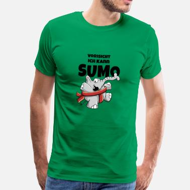 Comic Artist I can sumo - Men's Premium T-Shirt