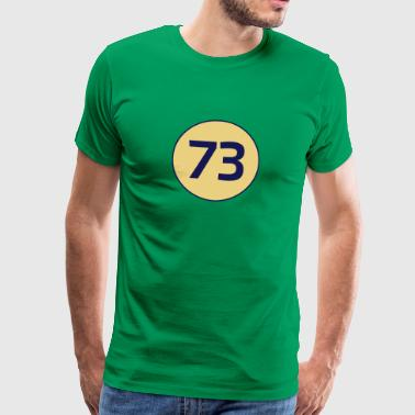 The Big Bang Theory 73 the best number Big Bang Number Theory Theory - Men's Premium T-Shirt