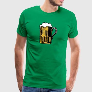 Beer is fucking awesome - Men's Premium T-Shirt