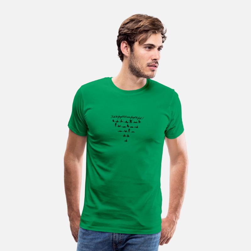 Pornstar T-shirts - Never forget to fuck 17 - T-shirt premium Homme vert