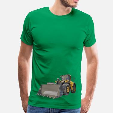 Volvo wheel loader - Men's Premium T-Shirt