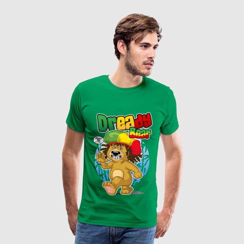 Dready bear - Men's Premium T-Shirt