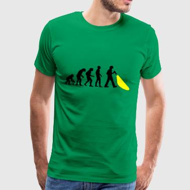 Evolution of mankind. Here's the police. - Men's Premium T-Shirt
