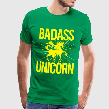 Badass Unicorn - Men's Premium T-Shirt